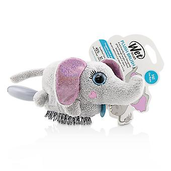 Wet Brush Plush Brush - # Elephant - 1pc