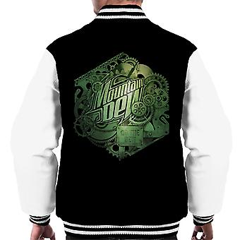Mountain Dew Cogs Of A Soft Drink Men's Varsity Jacket