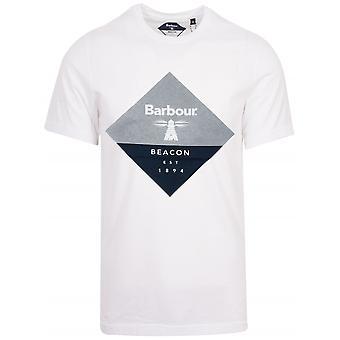Barbour Beacon Barbour Beacon White Diamond T-Shirt