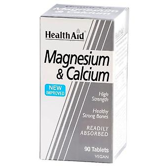 Health Aid Magnesium with Calcium 90 Tablets