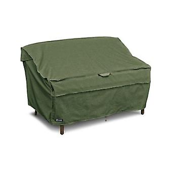 Montlake Fadesafe Heavy Duty Patio Panca/Loveseat/Sofa Cover, Heather Fern, Piccolo