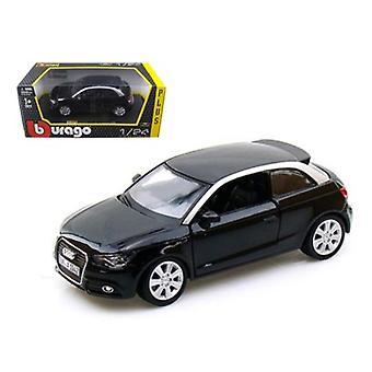 Audi A1 Black 1/24 Diecast Auto Modell von Bburago