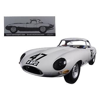 1963 Jaguar Lightweight E-Type #47 'Coombs 4 WPD'1/18 Diecast Model Car par Paragon 'quot;