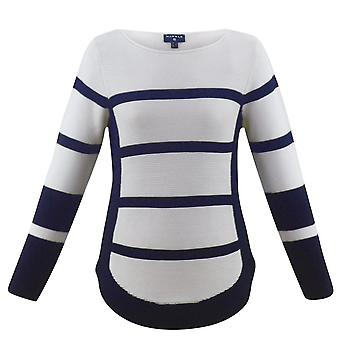 MARBLE Marble Navy Sweater 5686