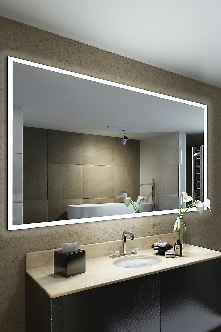 Nusa Shaver Edge Bathroom Mirror avec capteur, rasoir, Demister k1422