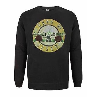 Amplified Guns N Roses Drum Men's Sweatshirt