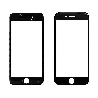 Voor iPhone 7 - 2-in-1 topglas en frame - Zwart