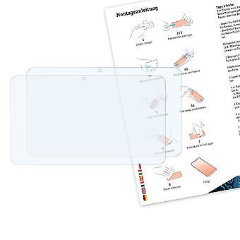 Bruni 2x Schutzfolie kompatibel mit Point of View ONYX 527 Folie