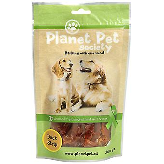 Planet Pet Snack de Tiras Sabor a Pato (Dogs , Treats , Chewy and Softer Treats)