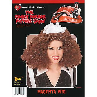 The Rocky Horror Picture Show Womens/Ladies Magenta Wig