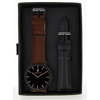 Watch Black Oak BX5890BSET-227 - watch Leather Brown man