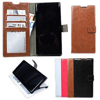 Samsung Galaxy Note10 - Ledertasche / Schutz