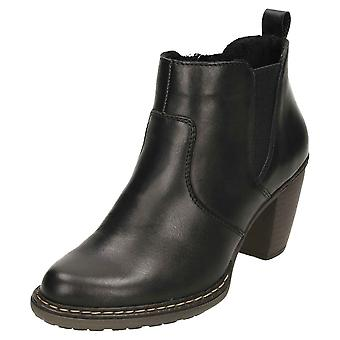 Rieker Chelsea Cowboy Leather Ankle Boots 55284-00