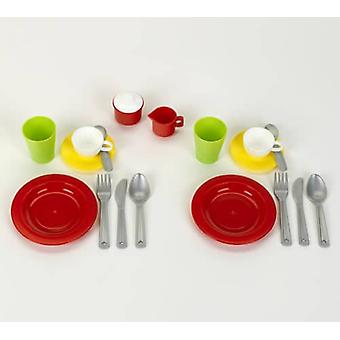 Theo Klein BIO Dinner Set for 2 Persons For Ages 24+ months and Above