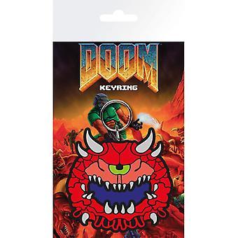 Doom Cacodemon Rubber Sleutelhanger