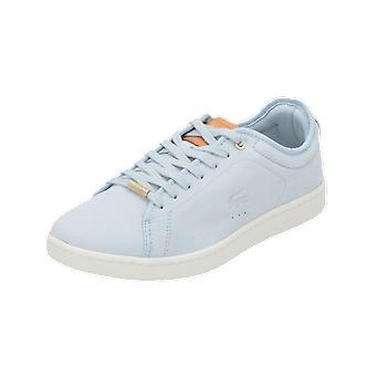 Lacoste CARNABY EVO 317 8 SPW Women's Sneakers Blue Gym Shoes Sport Running Shoes