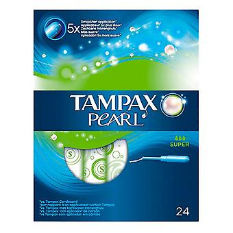 Pack of Tampons Pearl Super Tampax (24 uds)