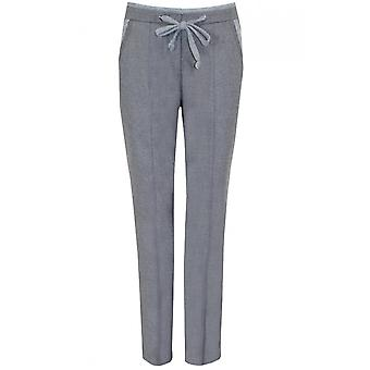 Bianca Grey Tie Waist Trousers