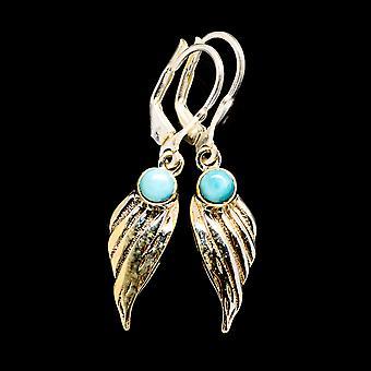 Larimar Earrings 1 1/2
