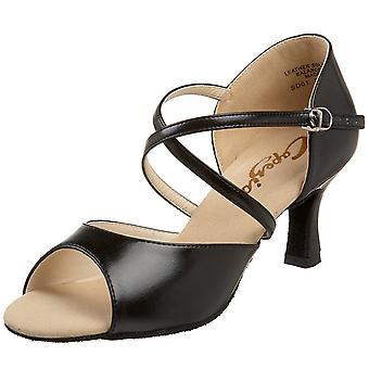 "Capezio Women's SD01 Eva 2"" Flared-Heel Sandal"