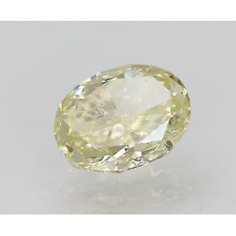Sertifioitu 1,00 karaatin J väri VS2 soikea luonnollinen loose diamond 6.75x5.17mm