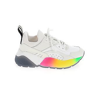 Stella Mccartney 800194w1fa49041 Dames's White Faux Leather Sneakers