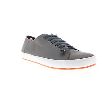 Camper Peu Rambla Vulcanizado  Mens Gray Canvas Euro Sneakers Shoes