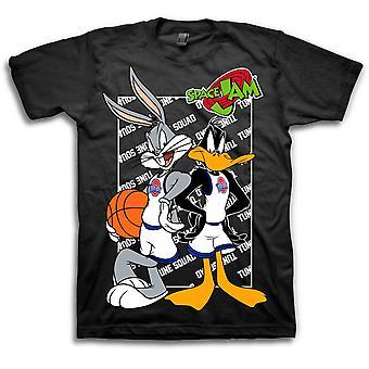 Space Jam Bugs ja Daffy T-paita