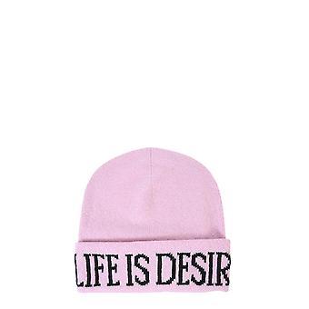 Alberta Ferretti 368066031240 Mujer's Sombrero de cachemira rosa