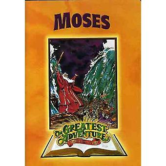 The Greatest Adventure Stories From the Bible: Moses [DVD] USA import