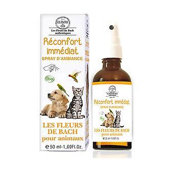 Instant comfort room spray for animals 50 ml of floral elixir
