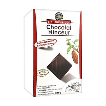 Slimming Squares Chocolate 30 units