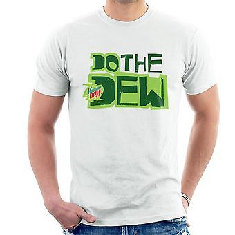 Mountain Dew gör dagg tryckt stil män ' s T-shirt