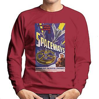 Hammer Horror films Spaceways Movie Poster mannen ' s Sweatshirt