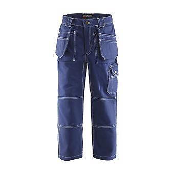 Blaklader kids trousers navy-blue 15441370 - childrens