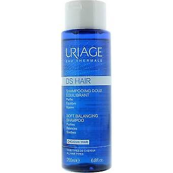 Uriage DS Hair Soft Balancencing Shampoo 200ml - Para todos os tipos de cabelo