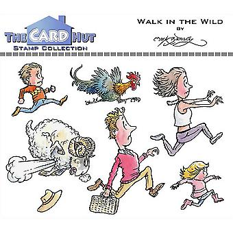 The Card Hut Walk In The Wild Clear Stamps