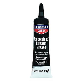 Birchwood Casey Firearm Grease 14g squeeze tube renewalube - non-toxic