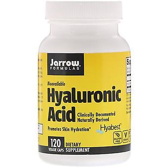 Formules Jarrow, Acide hyaluronique, 50 mg, 120 bonnets végétariens