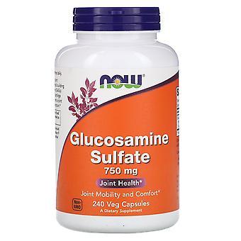 Now Foods, Glucosamine Sulfate, 750 mg, 240 Veg Capsules
