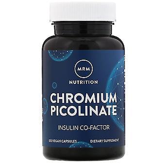 MRM, Nutrition, Chromium Picolinate, 200 mcg, 100 Vegan Capsules