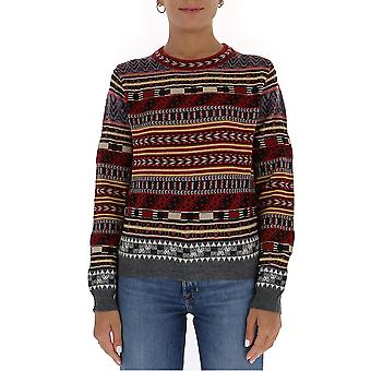 Etro 1941891688000 Dames's Meerkleurige wollen trui