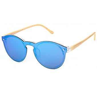 Sunglasses Unisex Cat.3 Blue Lens (19-068)