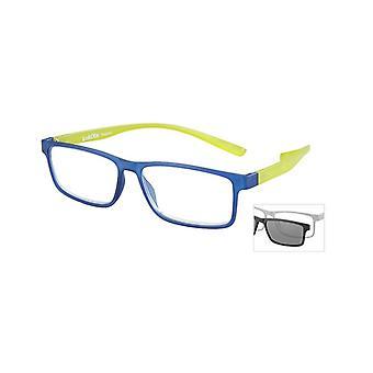 Leesbril Unisex Le-0191B Florida Blue Strength +3.00