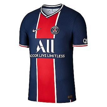 2020-2021 PSG Authentic Vapor Match Home Nike Shirt
