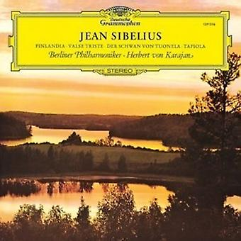 Karajan/Berliner Phi - Sibelius: Finlandia; [Vinyl] USA import