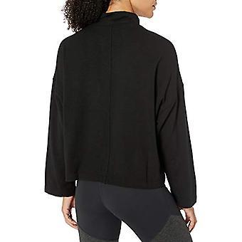 Merk - Core 10 Women's Cloud Soft Yoga Fleece Mock Dolman Sweatshirt,...