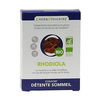 Organic rhodiola 30 capsules of 95mg