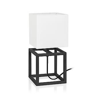 Markslojd CUBE - 1 kevyt sisäpöytälamppu musta, E14
