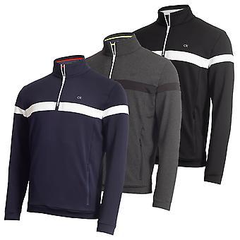 Calvin Klein Herren Scale Performance 1/2 Zip Seitentaschen Pullover